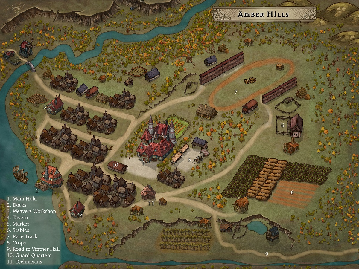 Amber Hills Hold Overview